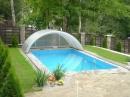 Строительство бассейна во дворе частного дома