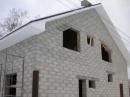 Основные этапы строительства дома из газобетона